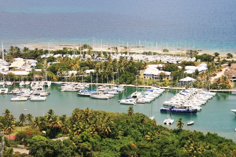 Yachts at rest at Nanny Key, Tortola