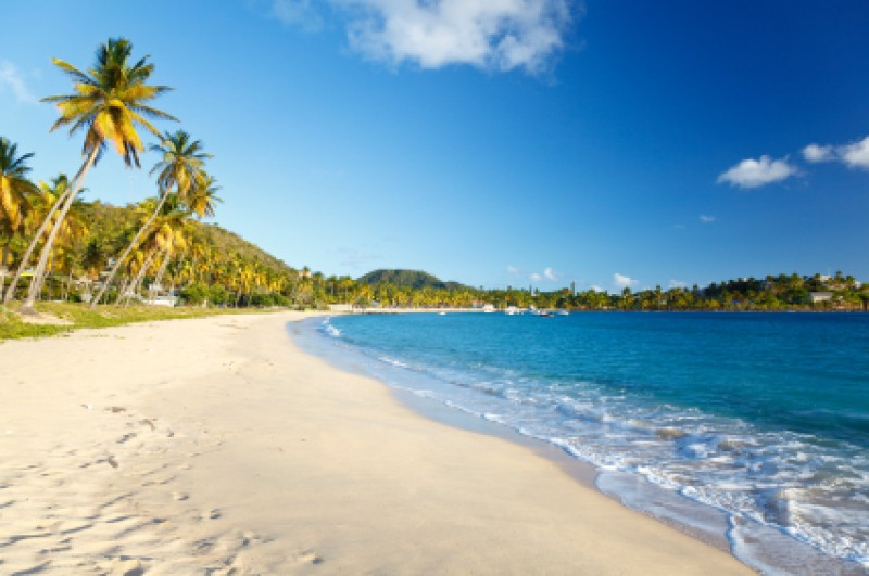 Darkwood Beach in Antigua