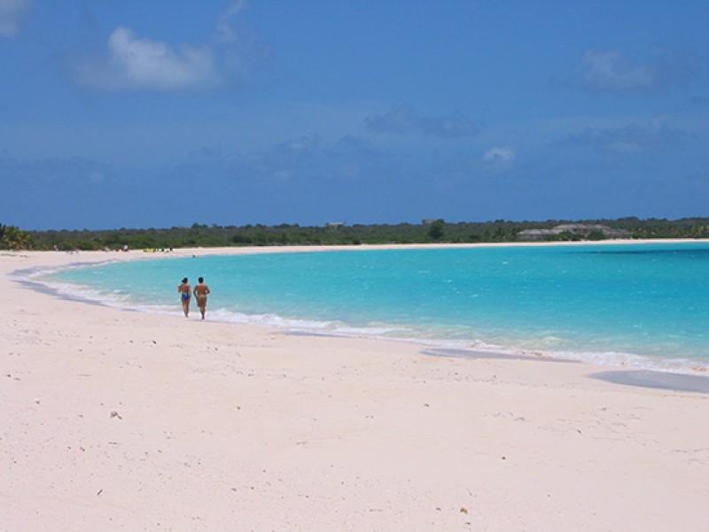 elegant beach of Anguilla