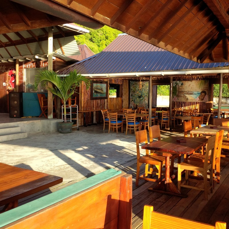 Basil's Bar, Britannia Bay, Mustique