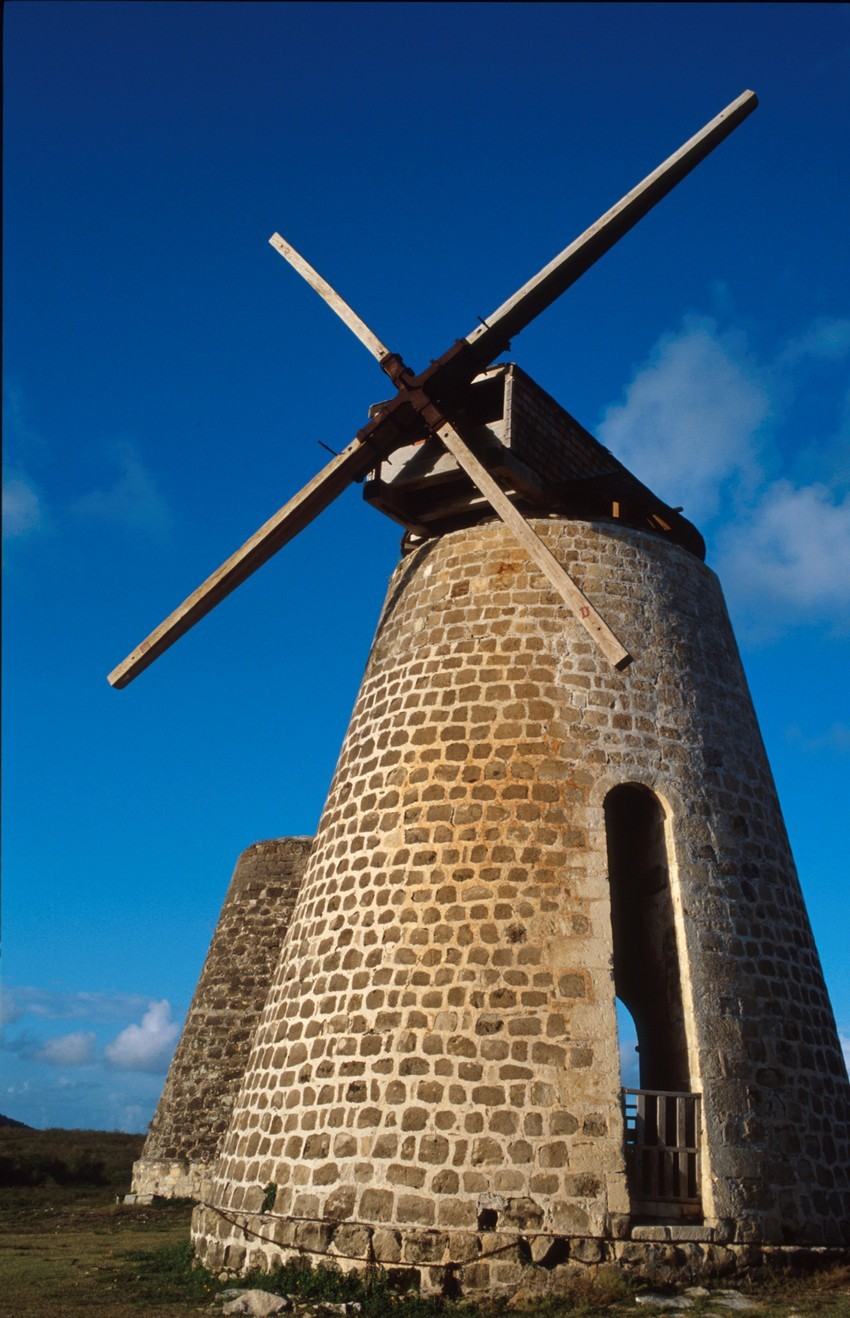 The betty's Hope windmill
