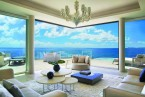 The Cliff Penthouse- Spacious Living Room with Spectacular Views