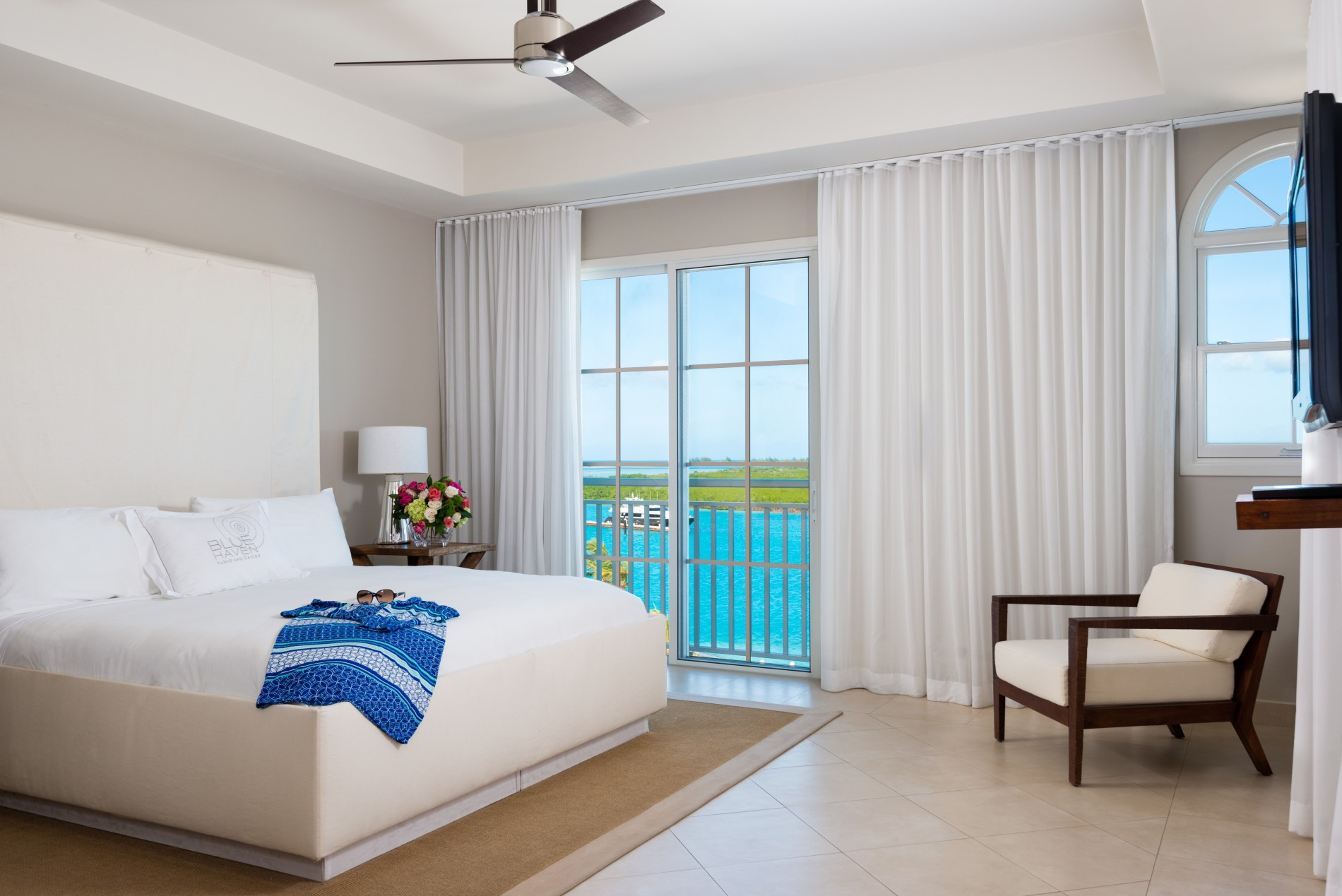 Three Bedroom Ocean View Villa Blue Haven Resort Turks