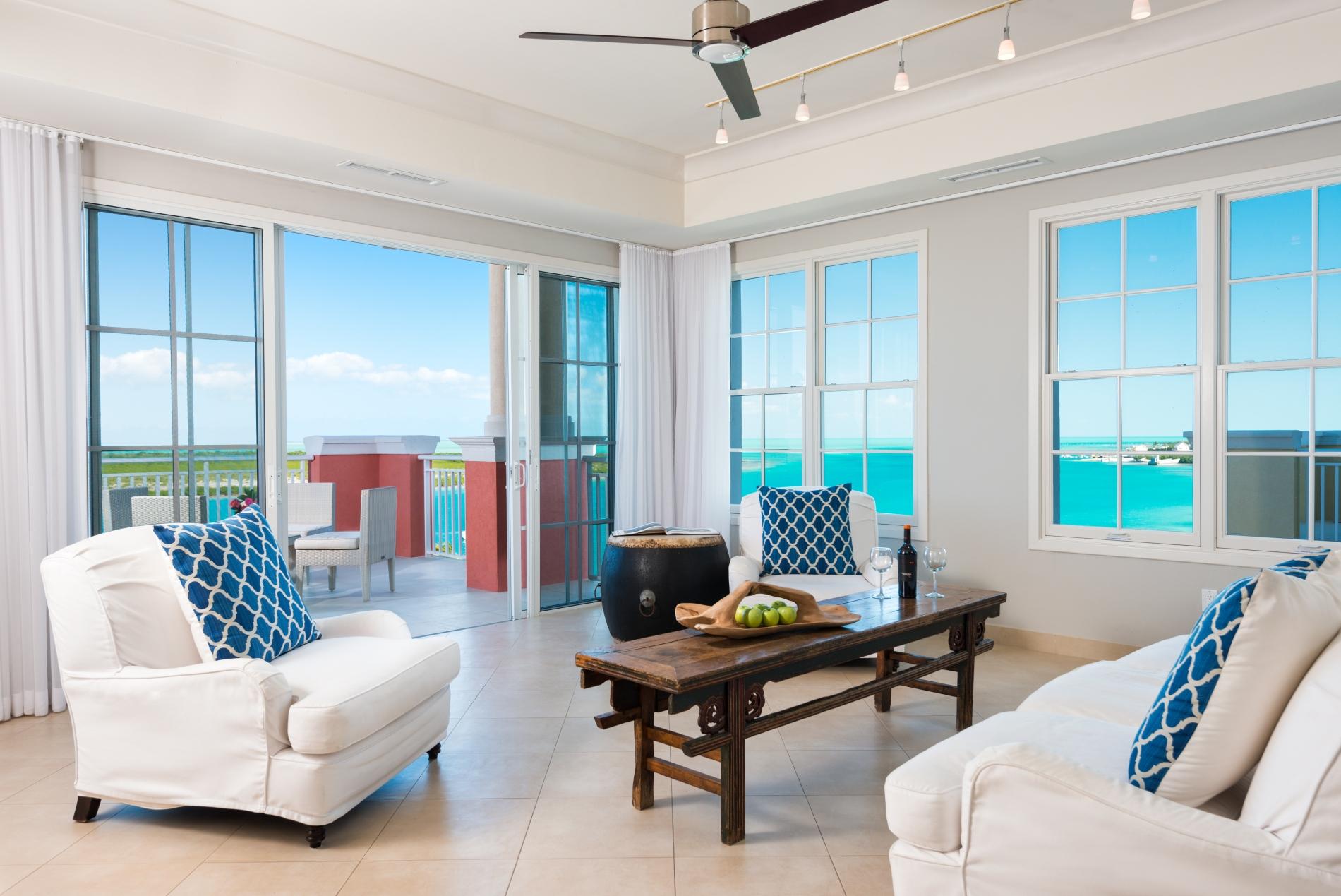 Three Bedroom Ocean View Villa Blue Haven Resort Turks