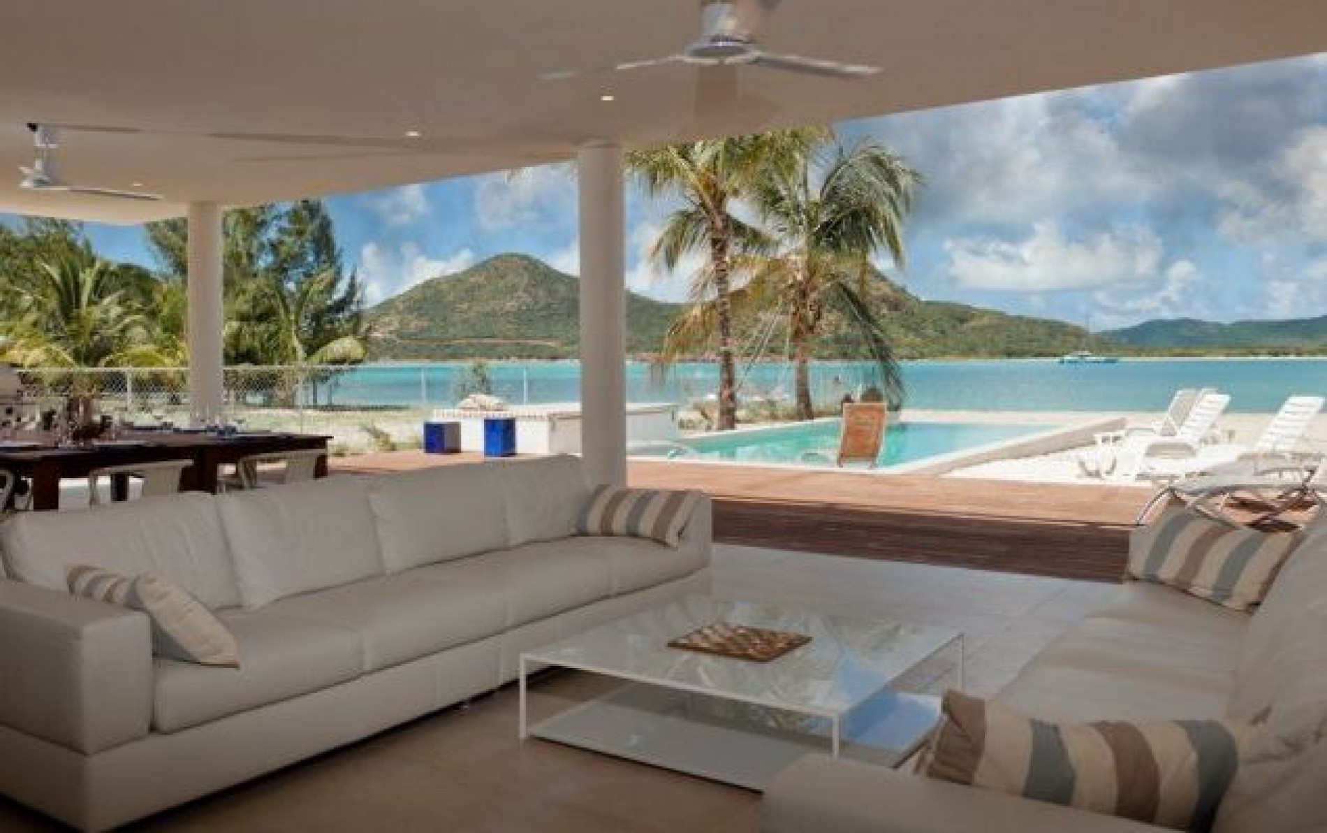 Villa Out Of The Blue Luxury Villa Antigua Jolly Harbour