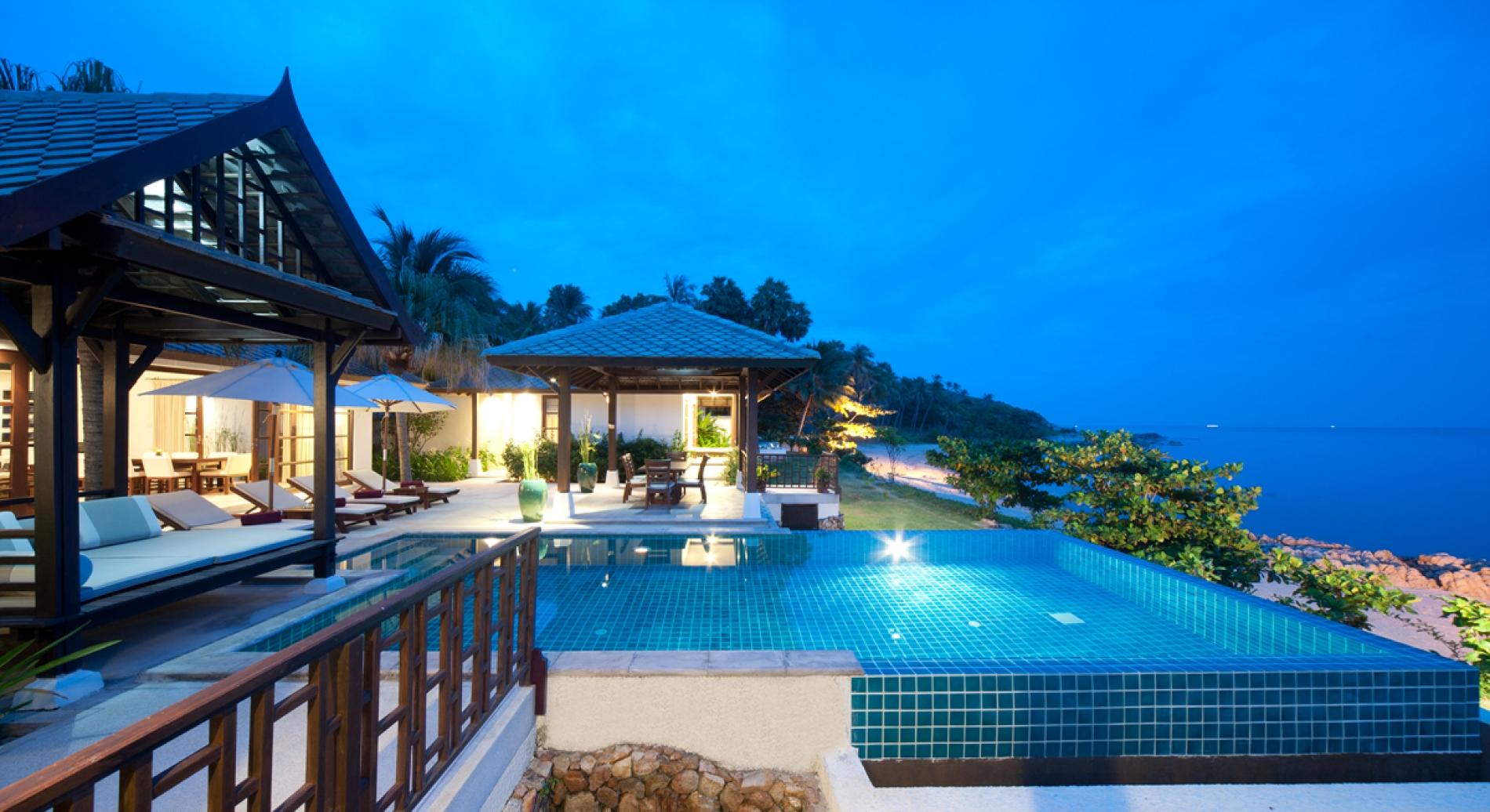 Kanda Residences Ocean Front Villa Koh Samui Thailand