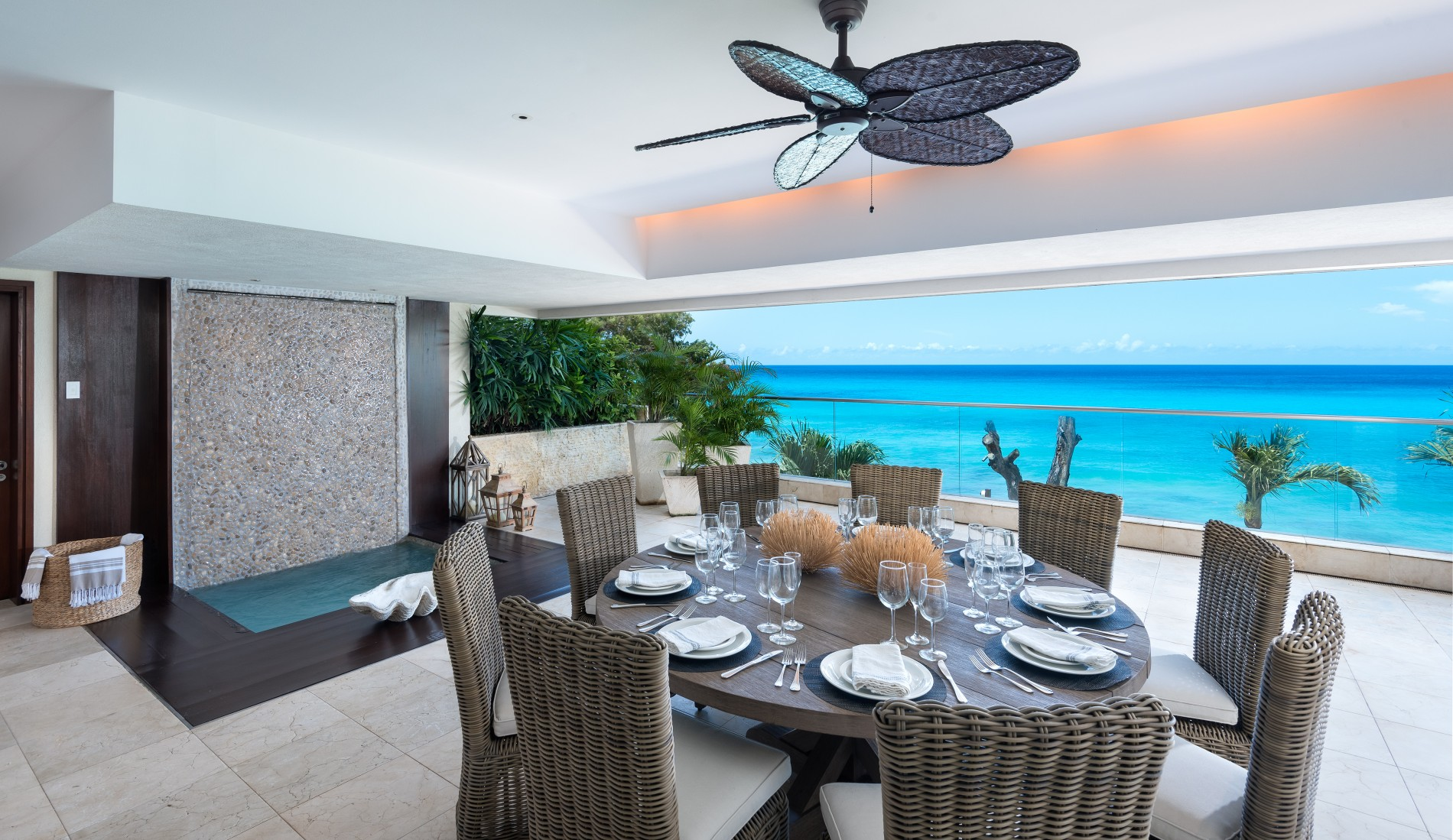 Portico #5 - Beach Front - Barbados on