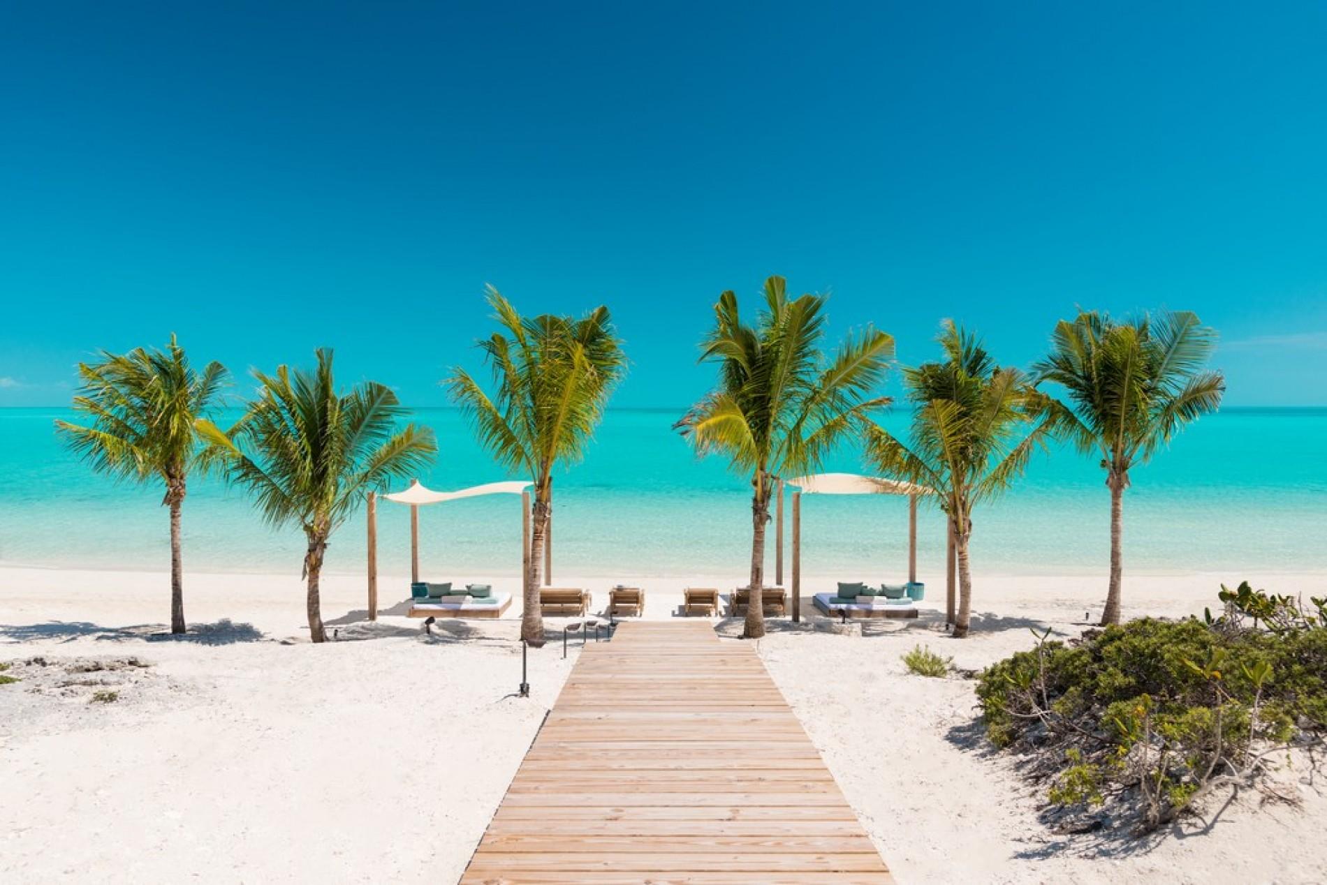 Caribbean Turks And Caicos Long Bay