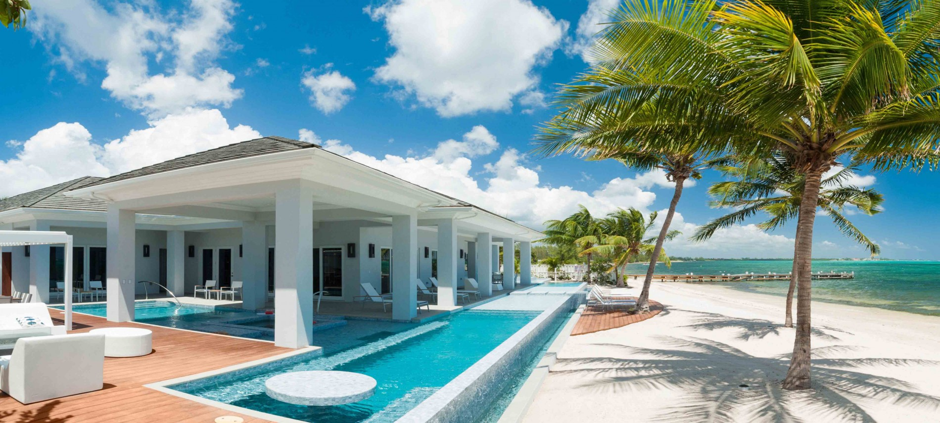 Grand Cayman Villas >> Point Of View 6 Bedrooms South Sound