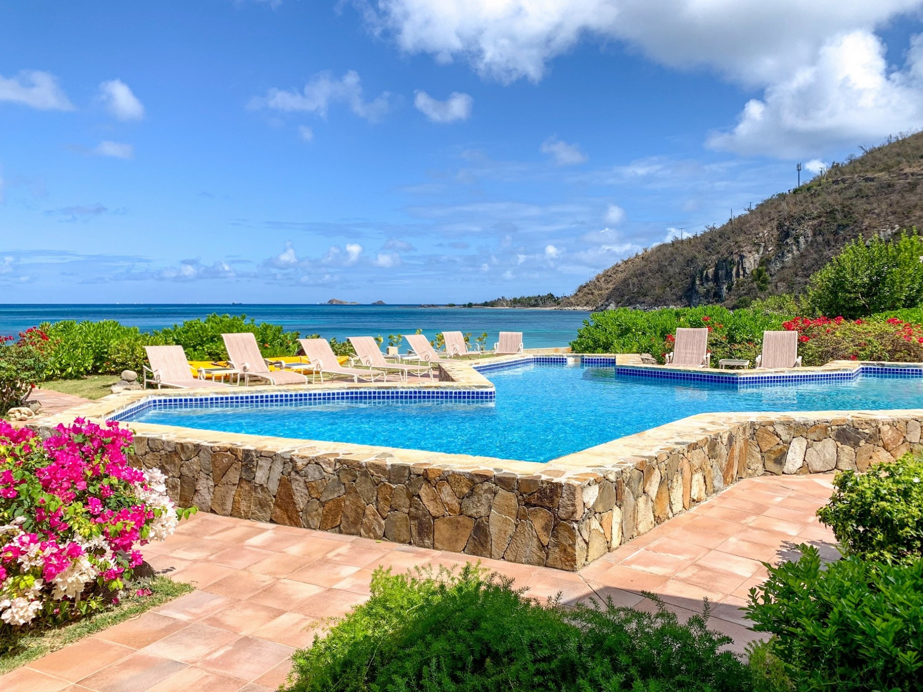 Christmas In July 2019 Virgin Gorda.Sand Castle 5 Bedrooms Beachfront