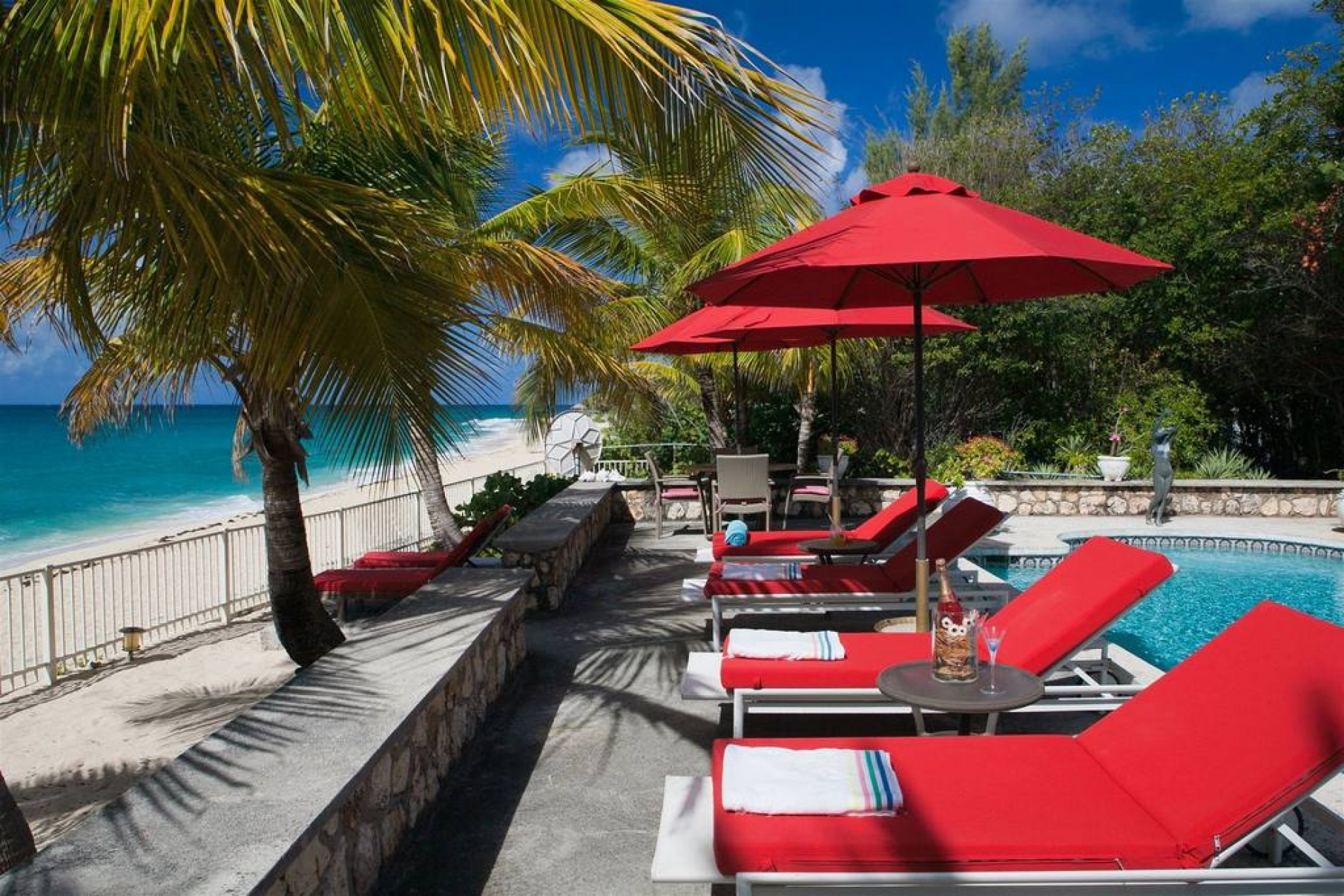 Caribbean St Martin Baie Longue