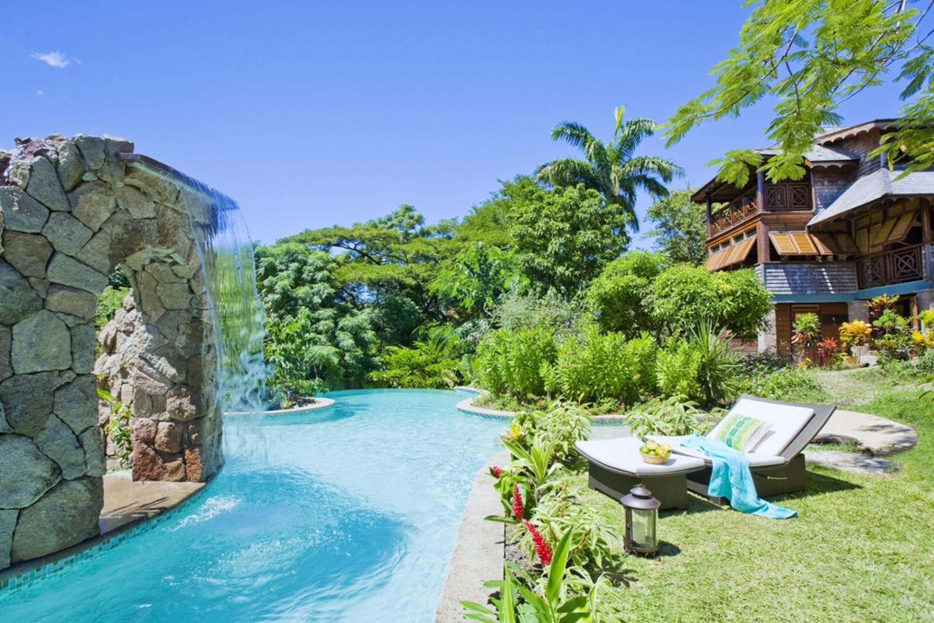 C\'est La Vie   Trouya   St Lucia  Exceptional Villas