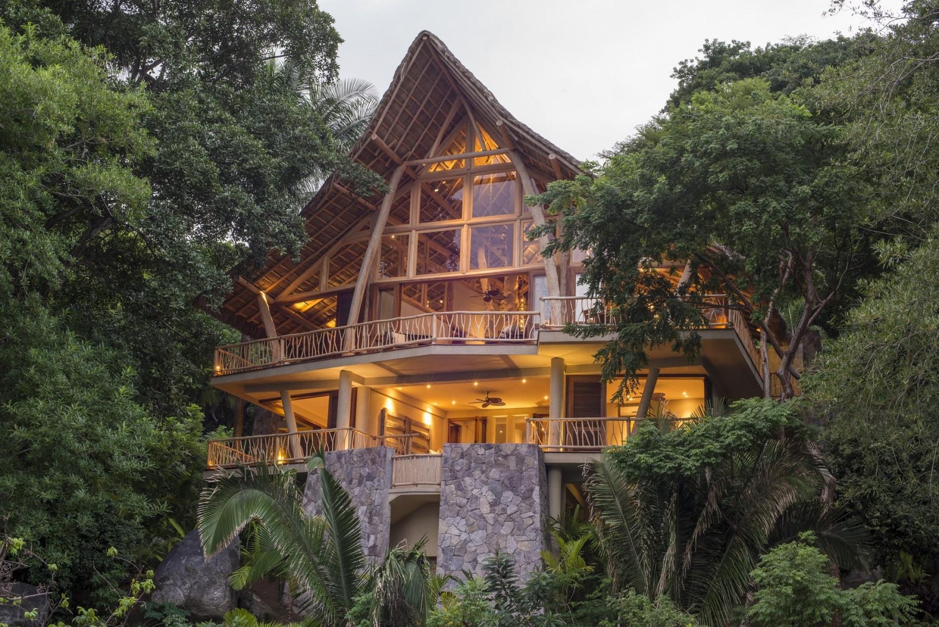 Tree House Luxury 3 Bedroom Villa Punta Mita Mexico
