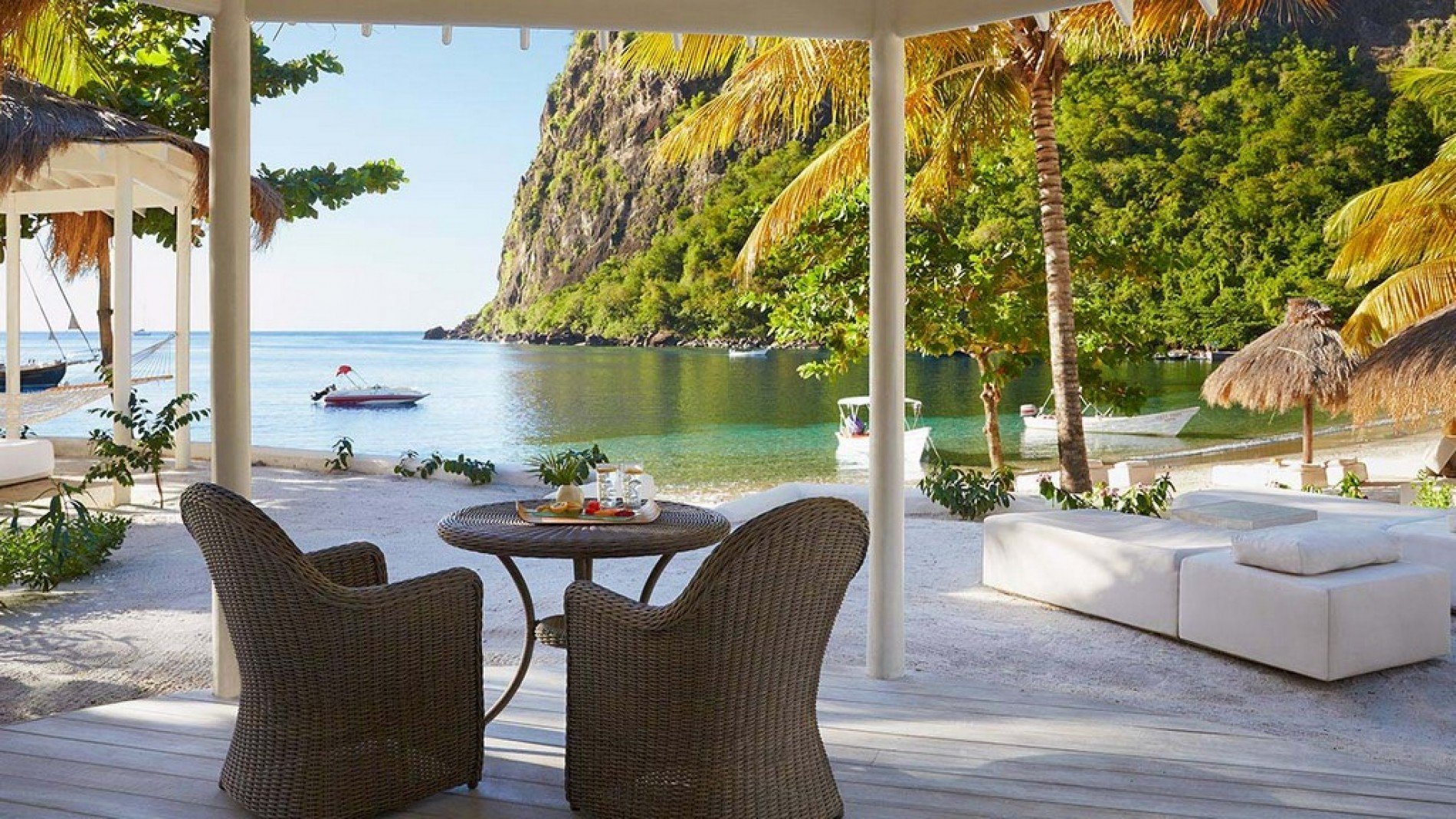 Sugar Beach Resort  Beach Front Bungalow  Resort in St Lucia