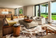 The living Area at Andaz Maui