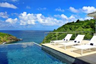 Serenity Villa St Lucia - Pool and View