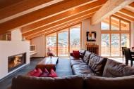 Chalet Zeus Zermatt - Living room
