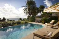 Whispering Palms - Jumby Bay Private Island - View from Pool