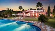 Pool & terrace at Villa Mirador