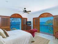 Ocean View Villa Suite with pool and terrace at Cap Maison - Bedroom with Sea Views