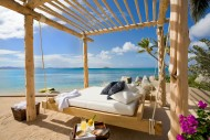 View of the Caribbean Sea from Aquamare Villa in the British Virgin Islands
