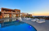 The pool at Villa Selena, Mykonos