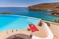 Sea views from Wellington Villa, Syros