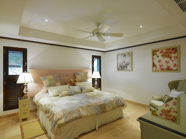 Bedroom at Coral Cove No.12 Luxury Beachfront Apartment