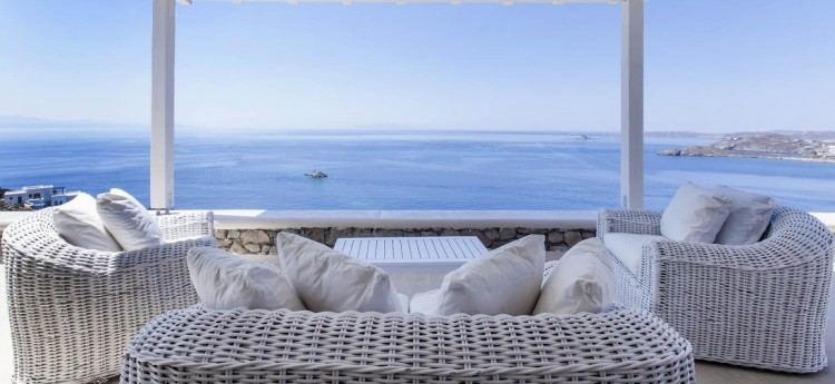 Carmina Villa in Mykonos - Sea Views