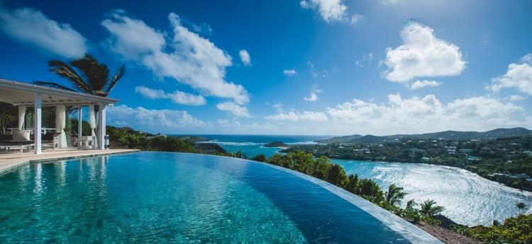 Nocean is a luxurious Ocean view villa in St Barts