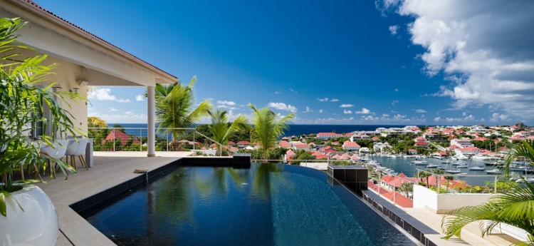 Villa Prestige is a luxurious, modern 3-bedroom villa in Gustavia St Bart's.
