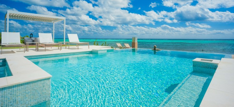 Tranquility Cove Villa in Grand Cayman - Pool View