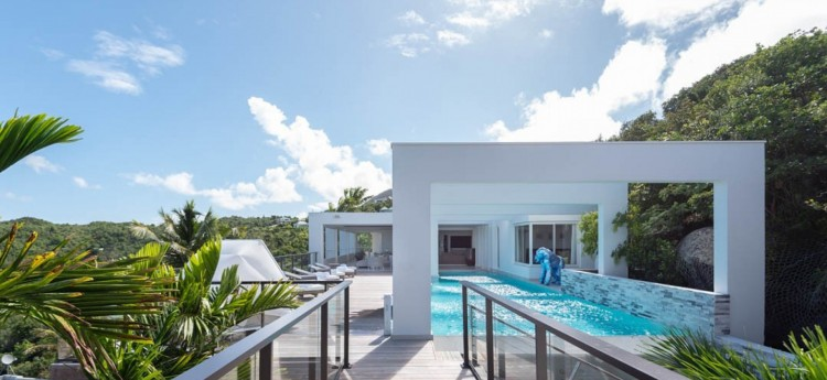 Eclipse villa in St Barths