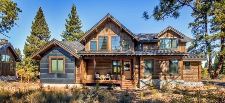 Old Greenwood 11272 Lake Tahoe - Front of cabin and porch