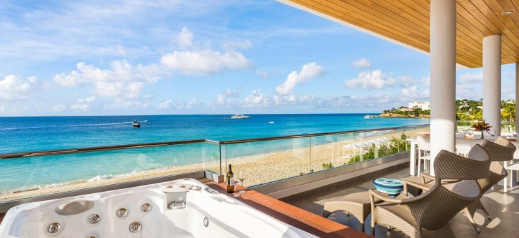 Tranquility Beach Condos on Mead's Bay Beach, Anguilla