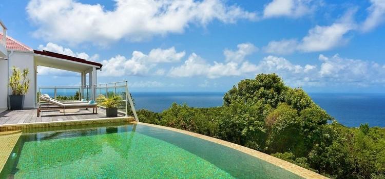 Dasha Chic Villa in St. Barths - Stunning Views - 3 Bedrooms St. Barths Villa for Rent