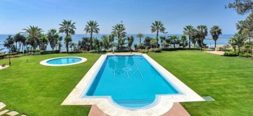 The pool at Casa Mary in Marbella