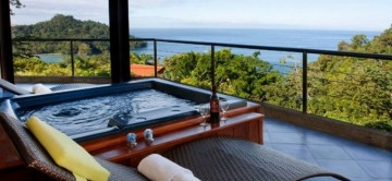 View from Jacuzzi at Casa Mirador in Tulemar Resort Costa Ri