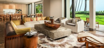 Sitting Room at Andaz Maui - Four Bedroom Villa in Hawaii