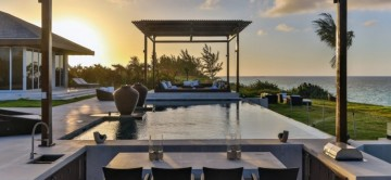 Stunning pool and ocean views at the Ananda Estate