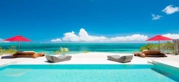 Beach Kandi Villa Turks and Caicos - Pool View