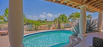 The private pool & terrace at Oleander 27, Aruba