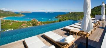 Isabelle Villa St Barts - View from pool