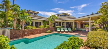 Fairways South 28 & the beautiful private terrace with pool,