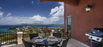 Gardenia Villa & beautiful sea and island views