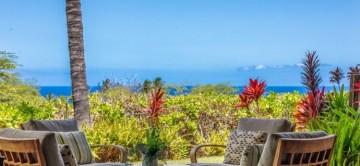 Hainoa 19 & the beautiful tropical & ocean views from the te