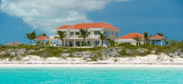 View from Sea of Haven House in Turks and Caicos