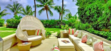 The terrace at Smugglers Cove 1 in Barbados
