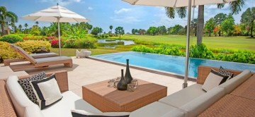 Sunset Ridge Villa on the Four Seasons Estate Nevis