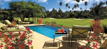 pool at Villa Aquarius, Four Seasons Nevis